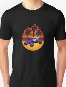 Dune Buggy Manxter Purple Sunset T-Shirt