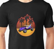 Dune Buggy Manxter Purple Sunset Unisex T-Shirt