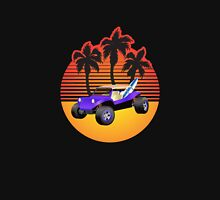 Dune Buggy Manxter Purple Sunset Unisex T-Shirt