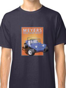 Dune Buggy Blue Manx Orange Box Classic T-Shirt