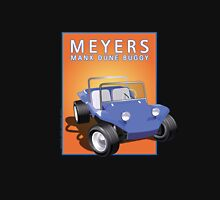Dune Buggy Blue Manx Orange Box Unisex T-Shirt