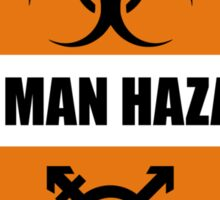 Bio Man Hazard Sticker