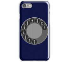 ROTARY DIAL iPhone Case/Skin