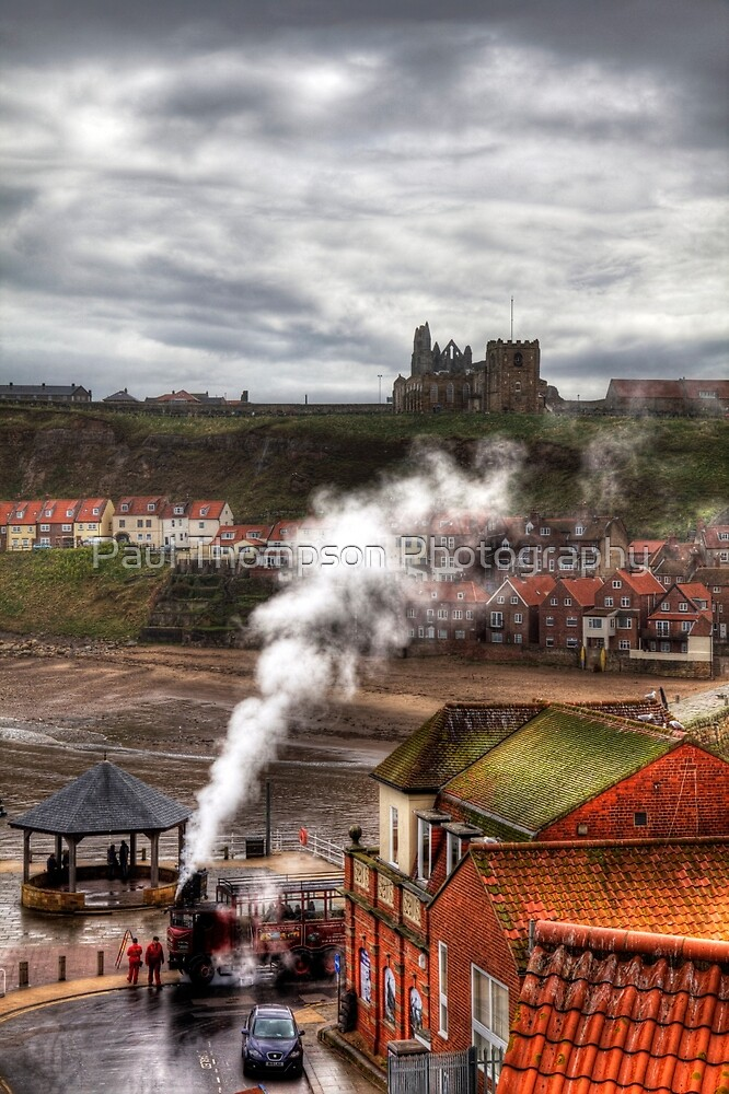 Whitby Town by Paul Thompson Photography