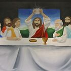 Last Supper Mural by Gian