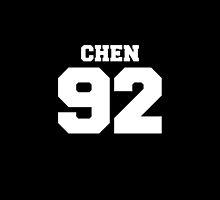 Chen EXO 92 Football Design EXO-M by impalecki