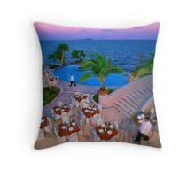 Waiters - Puerto Rico Throw Pillow