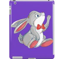 Cute rabbit with bow iPad Case/Skin