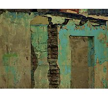 Weathered wall Photographic Print