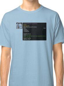 Shirt of Irresistibility Classic T-Shirt