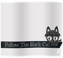Follow the Black Cat Poster
