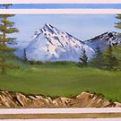 Teton Mountain View by KennethWright