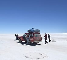 Salt sky Truck by davidleahy