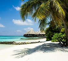 Postcard from the Maldives - Eden on Earth by Digital Editor .