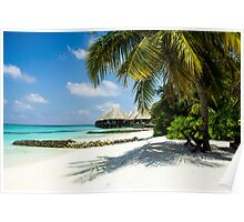 Postcard from the Maldives - Eden on Earth Poster