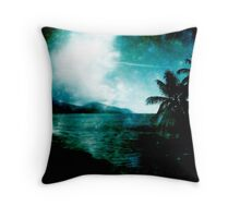 I caught fire in your eyes  Throw Pillow