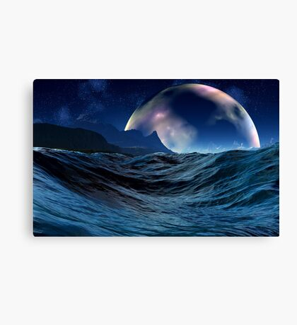 Gas Giant Gaylans Canvas Print
