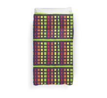 Fruit Stripe Duvet Cover