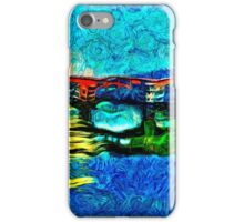 Arno River Florence Italy Fine Art Print iPhone Case/Skin