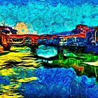 Arno River Florence Italy Fine Art Print by stockfineart
