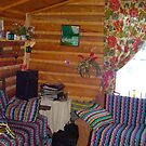 Inside of a Cabin by MaeBelle