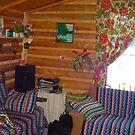 Inside of a Cabin by MaeBelle