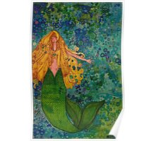 Mermaid Chill Poster