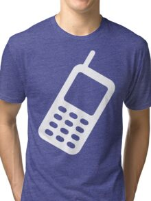 CELL PHONE-3 Tri-blend T-Shirt
