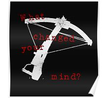 What Changed Your Mind? Poster
