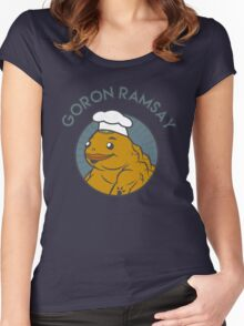 Goron Ramsay Women's Fitted Scoop T-Shirt