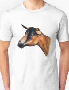 Oberhasli Goat Head T-Shirt T-Shirt