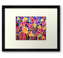 My Brain Neurons Scan is back from the Lab...... Framed Print