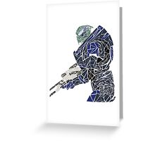 Garrus Greeting Card