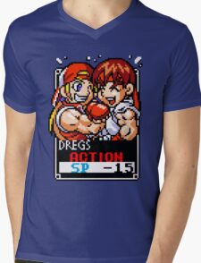 Terry and Ryu Mens V-Neck T-Shirt