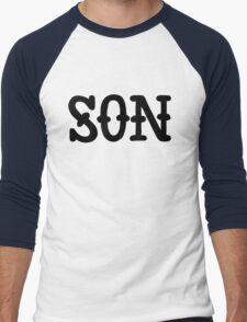 S O N Men's Baseball ¾ T-Shirt