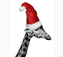 The Elegance of the Christmas Giraffe T-Shirt