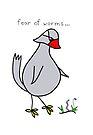 phobia bird by Soxy Fleming