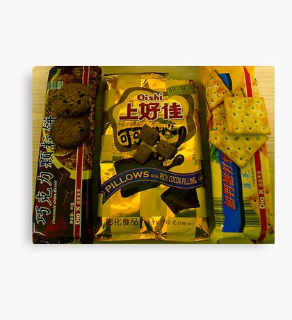 Chinese Biscuits Canvas Print
