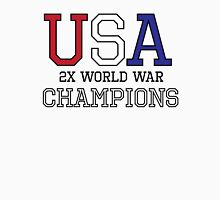 USA 2X World War Champions Unisex T-Shirt