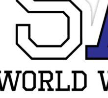 USA 2X World War Champions Sticker