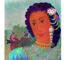 'Lady Missouri', Great, Great, Grandma, full blood Cherokee American Indian, A Cherokee Fantasy Photographic Print