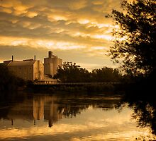 Northam Flour mill by Peter Hodgson