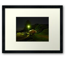 Dusk at Fisherman's Beach Framed Print