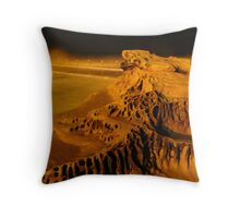 Night at Dee Why Rock Baths Throw Pillow