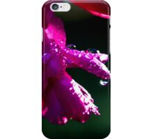 Rays on drops iPhone Case/Skin