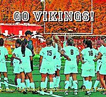 2009 Inglemoor Vikings Girls' Varsity Soccer - Autumn by Leanne  Thomas