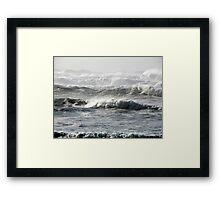 High Surf Warning 2 Framed Print