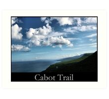 Cabot Trail Art Print