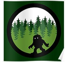 Canadian Everyday - Sasquatch Forest Logo - Canada Day Poster