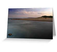 Dunes & Lagoons Greeting Card